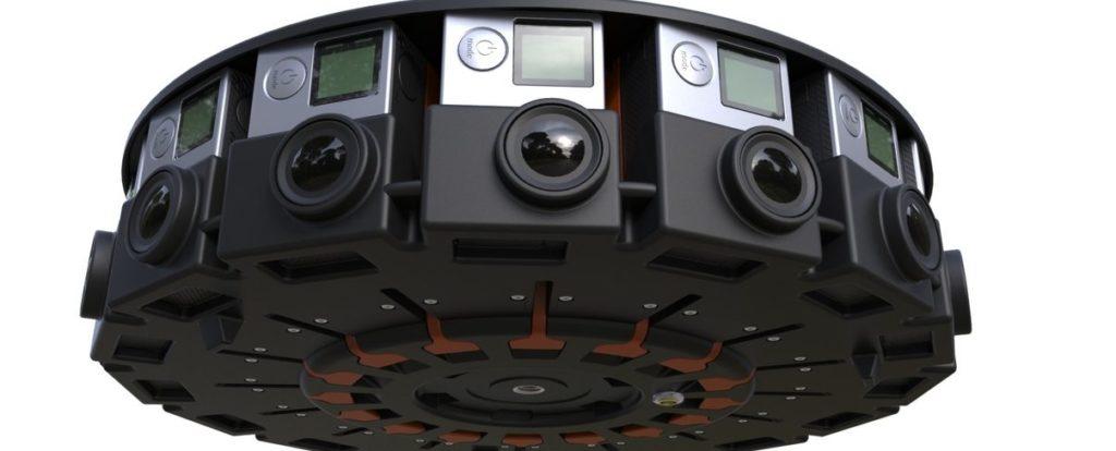 VR видеосъемка