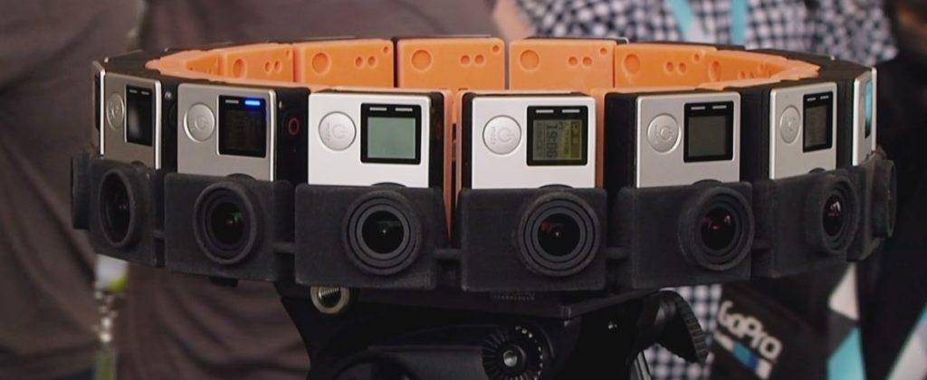 Съемка 360 видео
