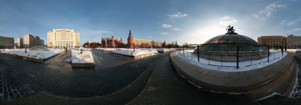 Панорамная съемка 360
