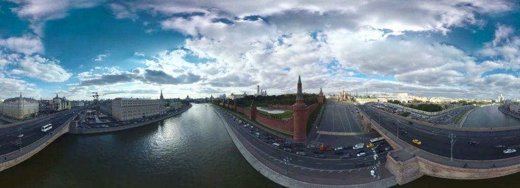 Съемка панорамных видео