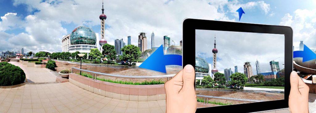 Панорамы для виртуальной прогулки