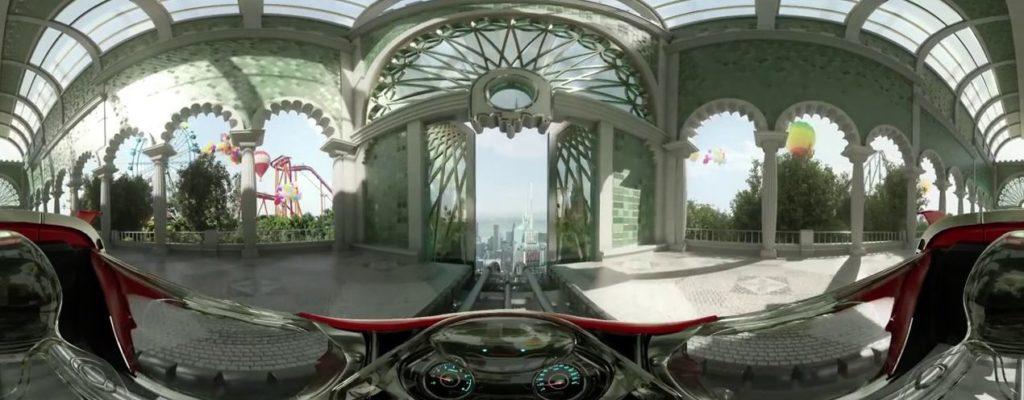 Видео виртуальной реальности 360