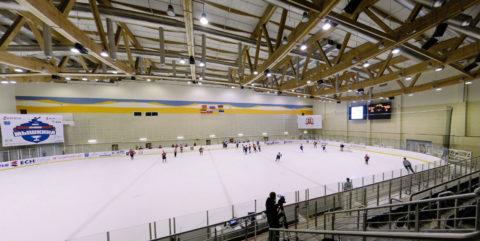 3D панорама хоккейного центра